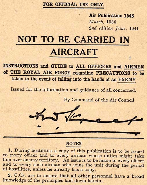 Air Publication 1548 Dated March 1939, Second Edition June 1941