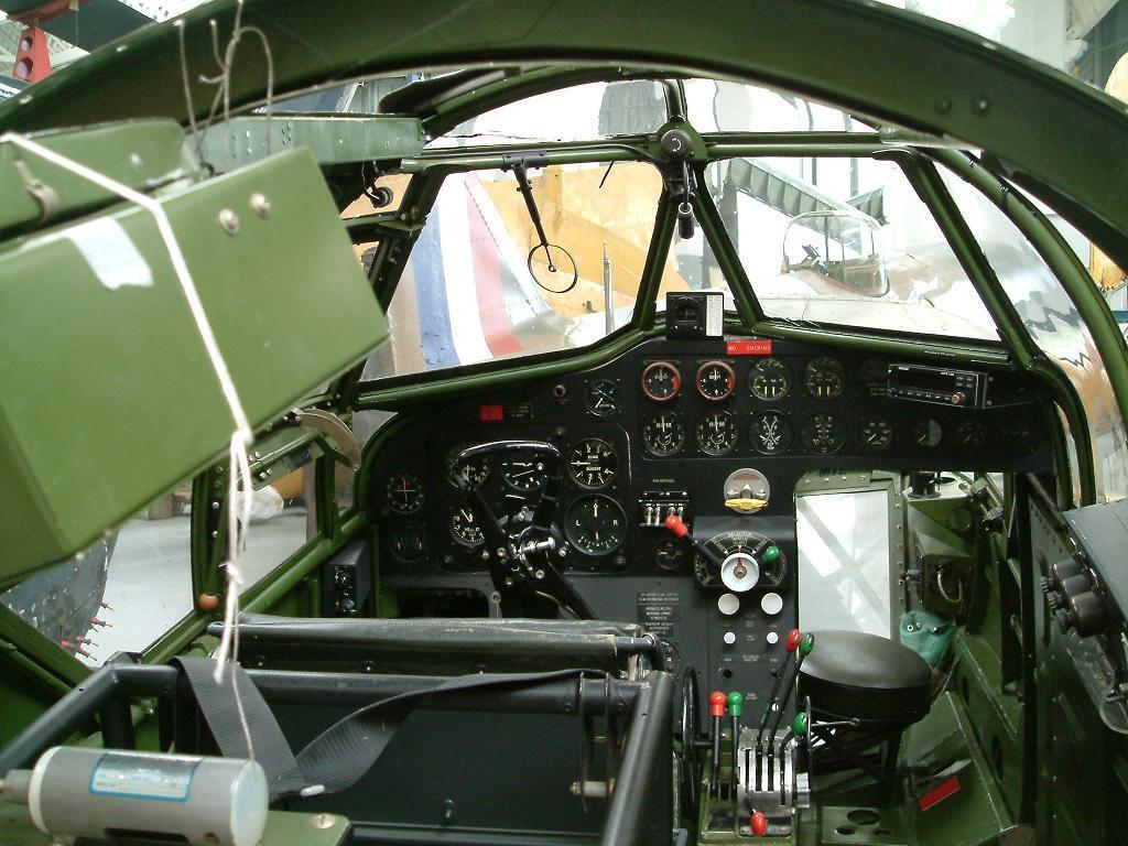 Blenheim cockpit
