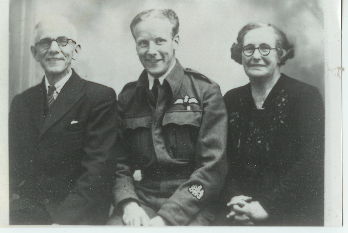 Ken, Grandpa and Grandma