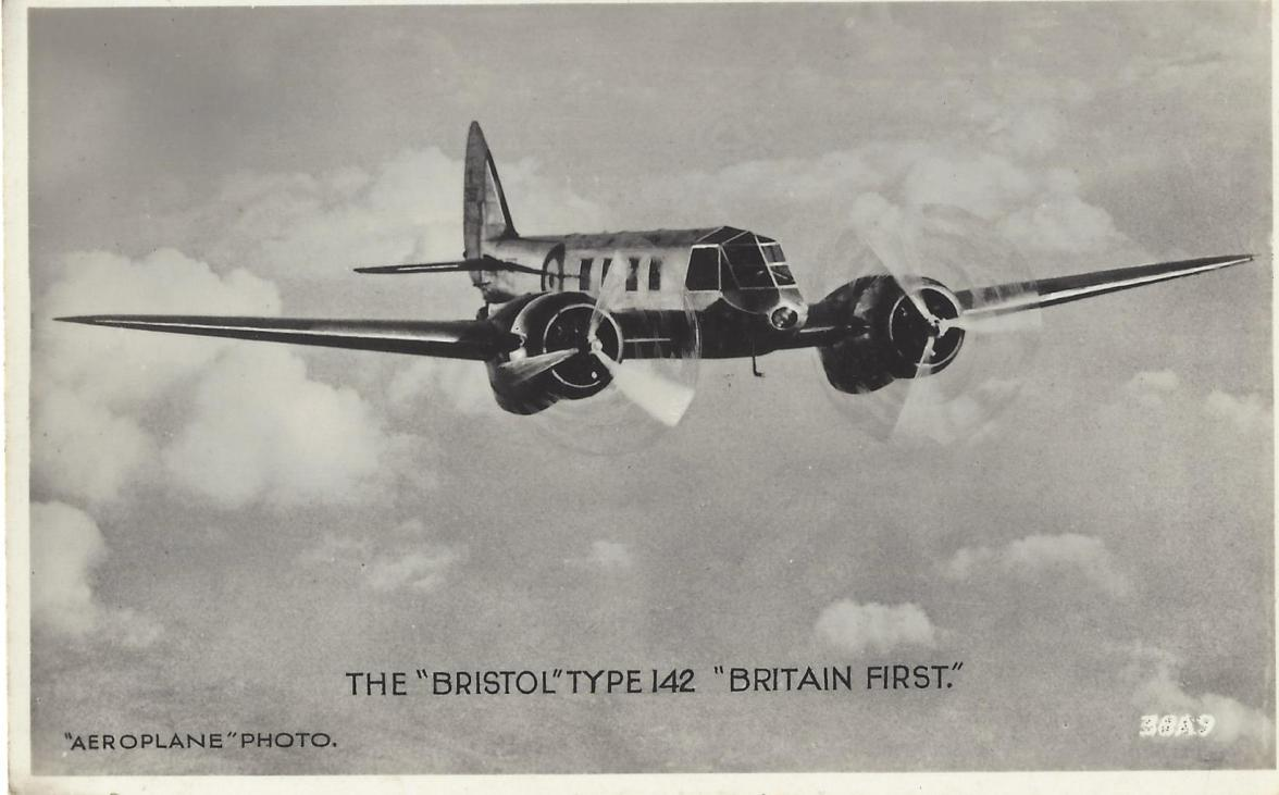 The Bristol Type 142 Britain First